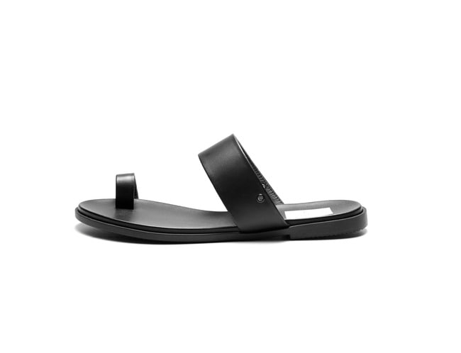 2 way Sandal - All black