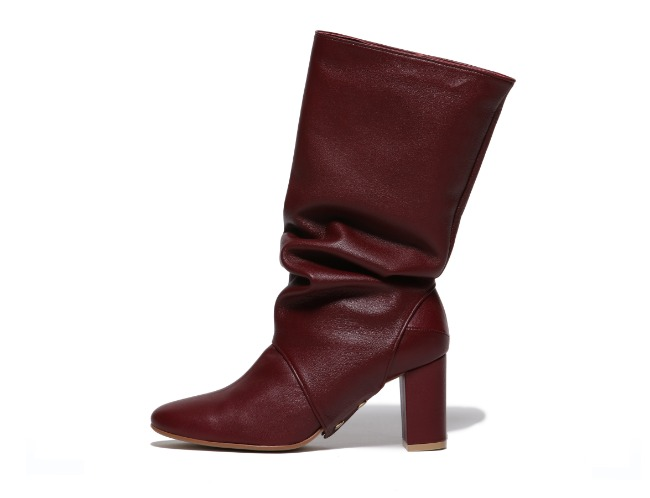 Transform Boots - red wine (5cm, 7cm)