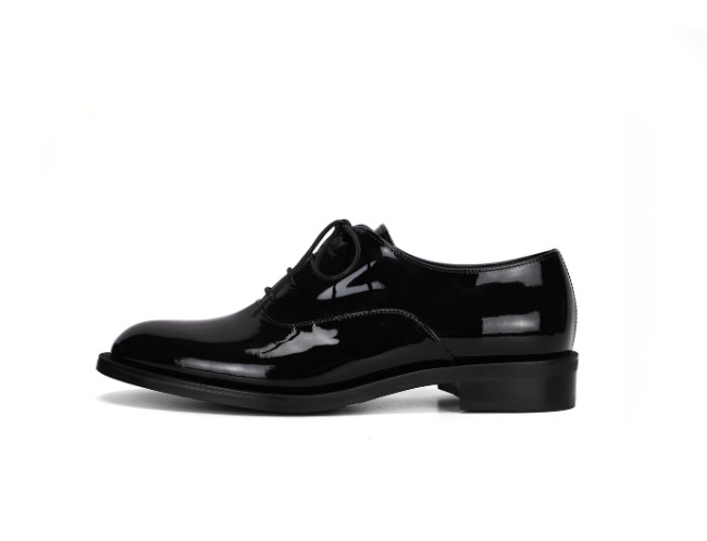 Classic Derby Shoes - black