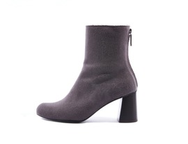 Wool ankle boots - oak