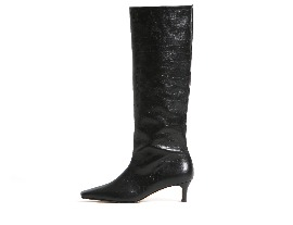 Croc Wide Long Boots - black