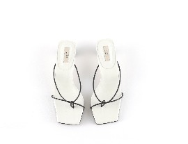 String Sandal - white